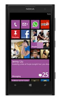 nokia lumia 1020 fronte black