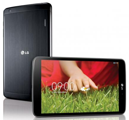 lg g pad 8.3 fronte orizzontale