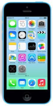 apple iphone 5c  fronte blue