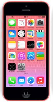 apple iphone 5c fronte pink