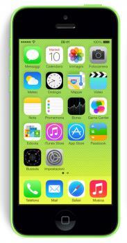 apple iphone 5c fronte green
