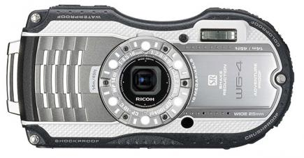 ricoh wg-4 fronte silver