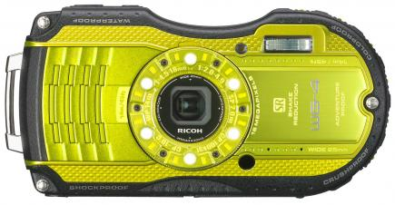 ricoh wg-4 fronte yellow