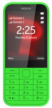 nokia 225 fronte green