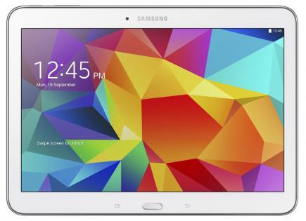 samsung galaxy tab 4 10.1 fronte white