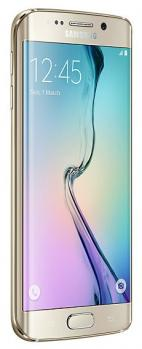 samsung galaxy s6 edge 3/4 gold