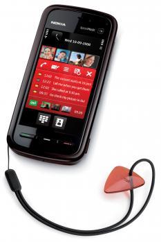 nokia 5800 xpress media con accessorio