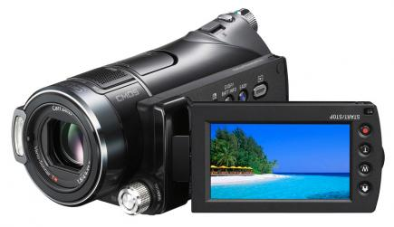 sony hdr cx11e 3/4 LCD