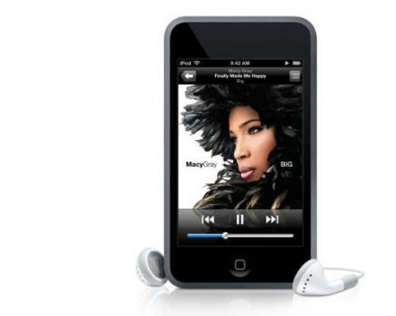 apple ipod touch fronte verticale