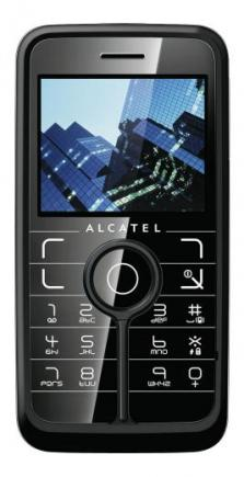 alcatel one touch v770 fronte black