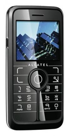 alcatel one touch v770 fronte/lato black