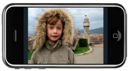 apple iphone 3g fronte orizzontale