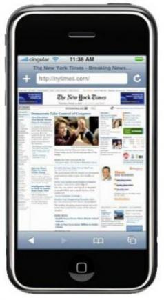 apple iphone 3g fronte Internet
