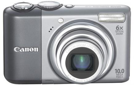 canon powershot a2000 is fronte