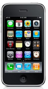 apple iphone 3gs fronte