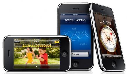 apple iphone 3gs varie angolazioni