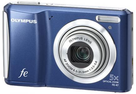 olympus fe-47 3/4 blue
