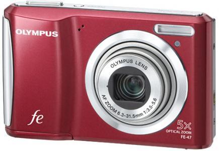 olympus fe-47 3/4 red