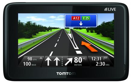 tomtom go live 1005 fronte