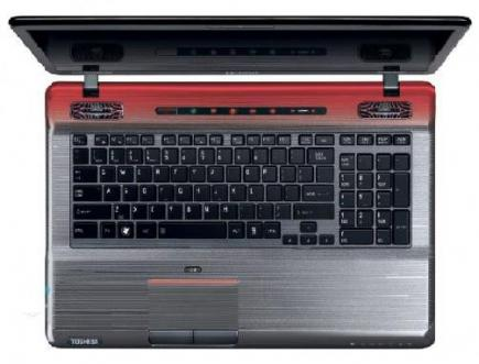 toshiba qosmio x770 3d tastiera