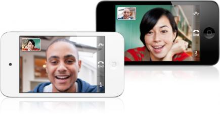 Apple iPod Touch 4G: Vista Frontale FaceTime