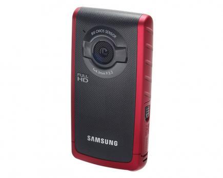 Samsung HMX-W200RP: Vista Frontale