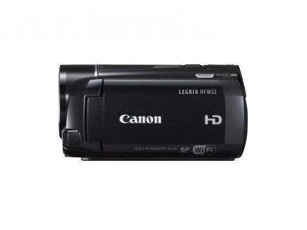 Canon LEGRIA HF M52: vista laterale