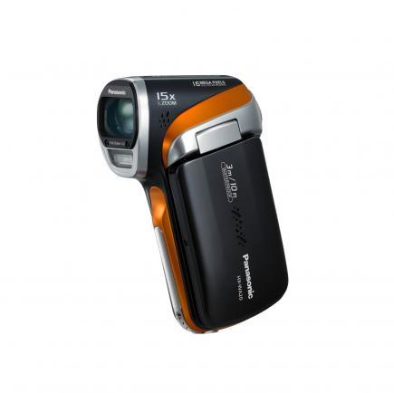 Panasonic HX-WA20: vista frontale black