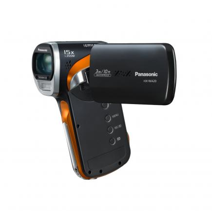 Panasonic HX-WA20: vista display black