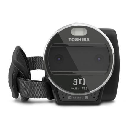 Toshiba Camileo Z100: vista frontale