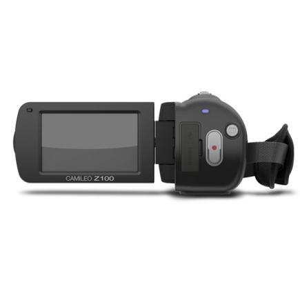 Toshiba Camileo Z100: vista posteriore display
