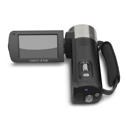 Toshiba Camileo Z100: vista superiore display