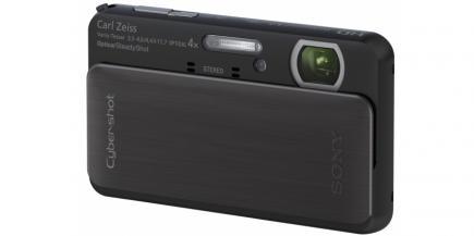 Sony Cyber-Shot DSC-TX20: vista 3/4 frontale sinistra