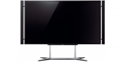 Sony KD-84X9005: vista frontale stand