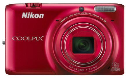 nikon coolpix s6500 fronte rossa