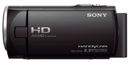 sony hdr-cx220e profilo black