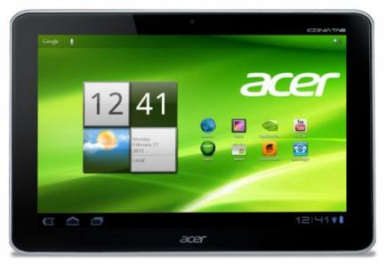 acer iconia tab a210 fronte