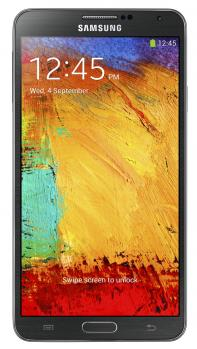 samsung galaxy note 3 fronte black