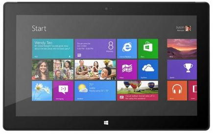 microsoft surface pro fronte