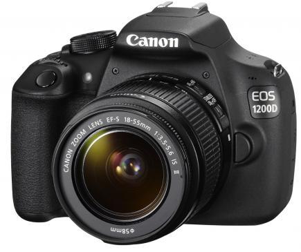 canon eos 1200d 3/4