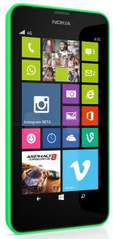 nokia lumia 635 3/4 green