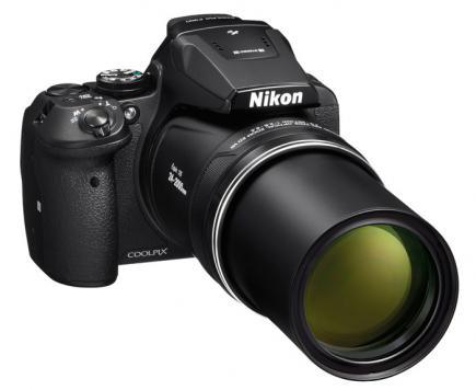 nikon coolpix p900 3/4 zoom aperto
