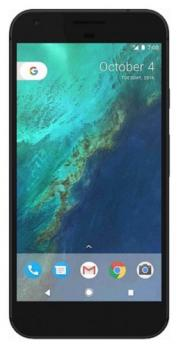 google pixel fronte black