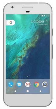 google pixel fronte silver