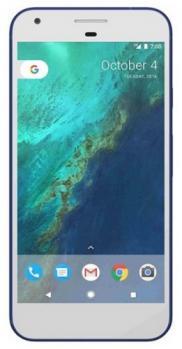 google pixel fronte blu