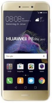 huawei p8 lite 2017 fronte gold